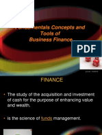 3. Fundamentals Concepts and Tools of Business Finance
