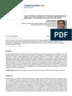 El Síndrome de Quemarse Por El Trabajo _(Síndrome de Burnout_)_ Aproximaciones Teóricas Para Su Explicación y Recomendaciones Par