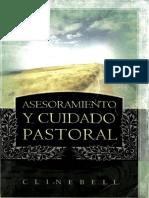Asesoramiento y Cuidado Pastoral - CLINEBELL HOWARD