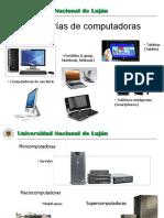 categorias de computadoras