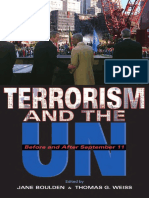 Jane Boulden, Thomas G. Weiss-Terrorism and the UN_ Before and After September 11 (United Nations Intellectual History Project) (2004)
