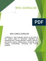 Basic Campus Journalism Scribd