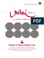 Hotel 3 Star Criteria