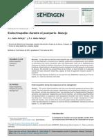 Endocrinopatías Durante El Puerperio. Manejo - Copia (2)