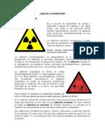 Qué Es La Radiación