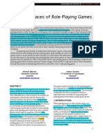 The Many Faces of Role Playing Games