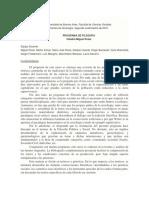 Programa Filosofía Rossi