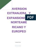 Historia Inverversion Extranjera y Expansionismo Norteamericano