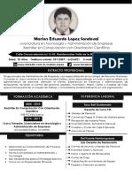 CV Marlon Estuardo Lopez Sandoval