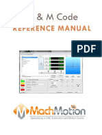 Mach4 G and M Code Reference Manual
