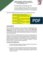 Constitución Política Peruana Del 1839 ,