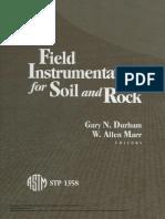 Field Instrumentation for Soil