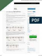 Las Cadencias y Semicadencias - Análisis Musical