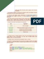 HTML, Etiqueta META