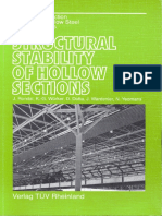 Structural Stability of Hollow Sections-J.Rondal