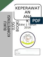 318147272 Buku Kompetensi Log Book Keperawatan Anak 2016