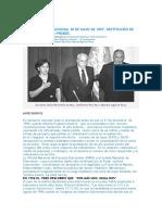 Tribunal Constitucional 29 de Mayo de 1997 - Destitucion