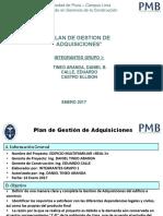10. Plan de Gestión de Adquisiciones