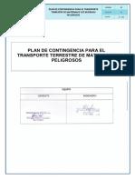 Plan de Contingencia Empresa Etujsa s.a. 2016