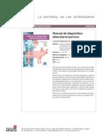 manual diagnóstico laboratorial porcino