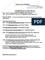070617 Rev 4 Teaching Resume With Multicultural Exp. and Teaching Philosophy