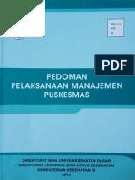 3.Pedoman Manajemen Puskesmas