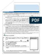 ¿Cómo Realizar Cálculos Iterativos Simples en La Apliación Principal de La ClassPad 330 (Recuperado)
