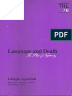 Agamben - Language and Death - The Place of Negativity.pdf