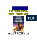 092 Kube-McDowell, Michael P. - Star wars - La nueva república - Trilogía de la flota negra 3 - La prueba del tirano.pdf