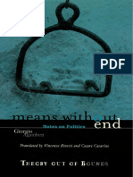 Agamben - Means Without End - Notes on Politics