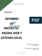 Programación y Análisis de Sistema