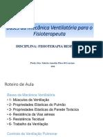 Bases Da Mecanica Ventilatória