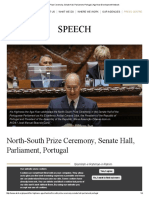 North-South Prize Ceremony, Senate Hall, Parliament, Portugal _ Aga Khan Development Network