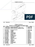 PC40MR-1 Bucket Cylinder Inner Parts