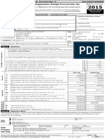 Sfot 2015 Form 990