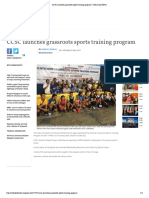 CCSC Launches Grassroots Sports Training Program _ Cebu Daily News
