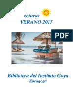 3. Lecturas Verano 2017
