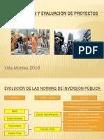 Preparacion y Evaluacion de Proyectos Villa Montes 2016