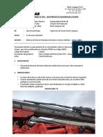 Informe Rotura de Barra de 16 Pies Gdr