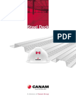 Canam Steel Deck Catalogue Canada
