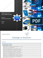 Catalogo Se Sensores