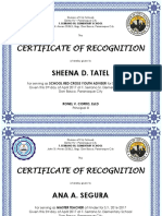 Cert Recognition