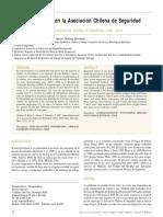 Asma Ocupacional en La Asociación Chilena de Seguridad 1990 a 2006