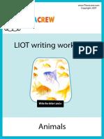 Teach Letters Workbook