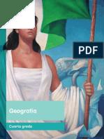 Primaria Cuarto Grado Geografia Libro de Texto