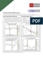 AUG-03-Wells Fargo-US Factory Orders Drop in June