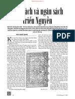 Kim Sách Và Ngân Sách Triều Nguyễn - Tôn Châu Quân