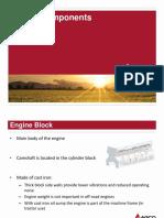 Massey Ferguson 7600 Engine components