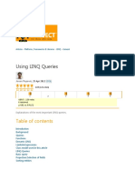 Using LINQ Queries