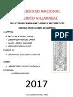 ESTUDIO DEL EQUILIBRIO QUÍMICO